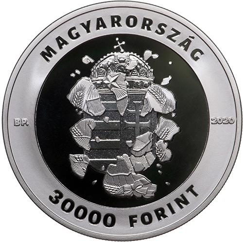 """L'emblema dell'Ungheria socialista """"esplode"""" simbolicamente lasciando spazio a quello della nuova democrazia"""