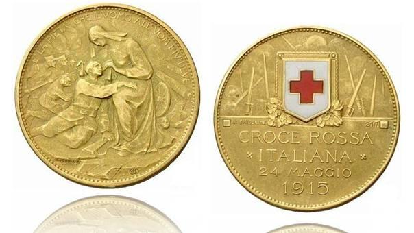 croce rossa batte moneta
