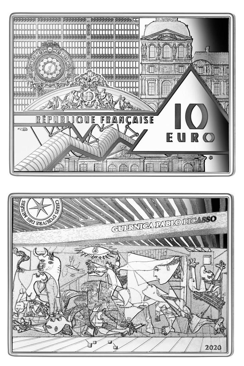 """""""Guernica"""" nell'atelier parigino in cui fu dipinta da Picasso nel 1937"""