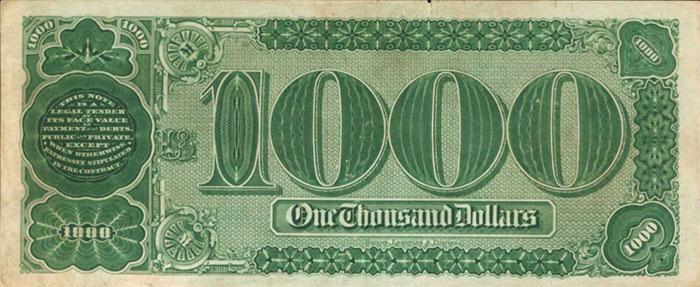 In effetti, gli zeri decorati a linee ondulate somigliano ad angurie; sta di fatto che la banconota è oggi la massima rarità americana con soli tre esemplari sul mercato e sette conosciuti in totale