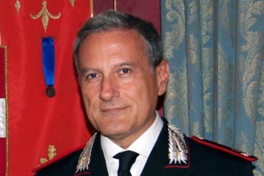 Il generale di brigata Claudio Cogliano, comandante della Scuola marescialli e brigadieri dei Carabinieri di Firenze