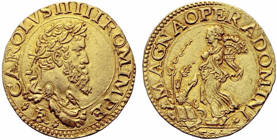 Anche Carlo V d'Asburgo, nonostante le ricchezze immense del suo impero, dovette finanziarsi spesso avvalendosi delle maggiori compagnie bancarie della sua epoca