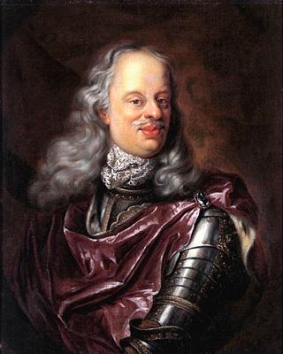 """Il granduca d'Etruria Cosimo III de' Medici, colui che è effigiato sul cosiddetto """"ongaro della Fama"""""""