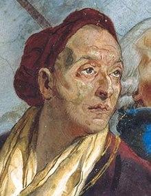 Autoritratto di Giambattista Tiepolo (Venezia 1696 - Madrid 1770)