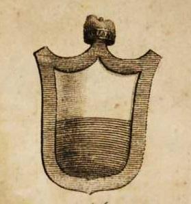 Stemma di Andrea Dandolo (1306-1354), 54° doge della Serenissima dal 1343 alla sua morte