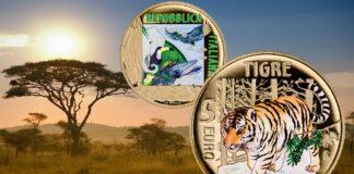 5 euro tigre Italia 2020