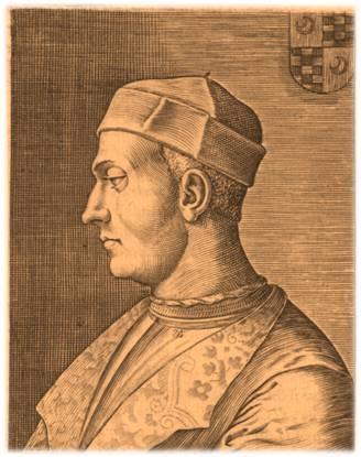 """""""L'altro"""" Vitellozzo Vitelli (1458-1503), più noto alle cronache, fu capitano d'armi e abile fonditore artiglierie e venne assassinato dal Valentino a Senigallia il 1° gennaio 1503"""
