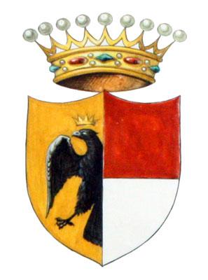Lo stemma della famiglia dei conti di Donoratico che appare anche sul grosso tornese di Villa di Chiesa
