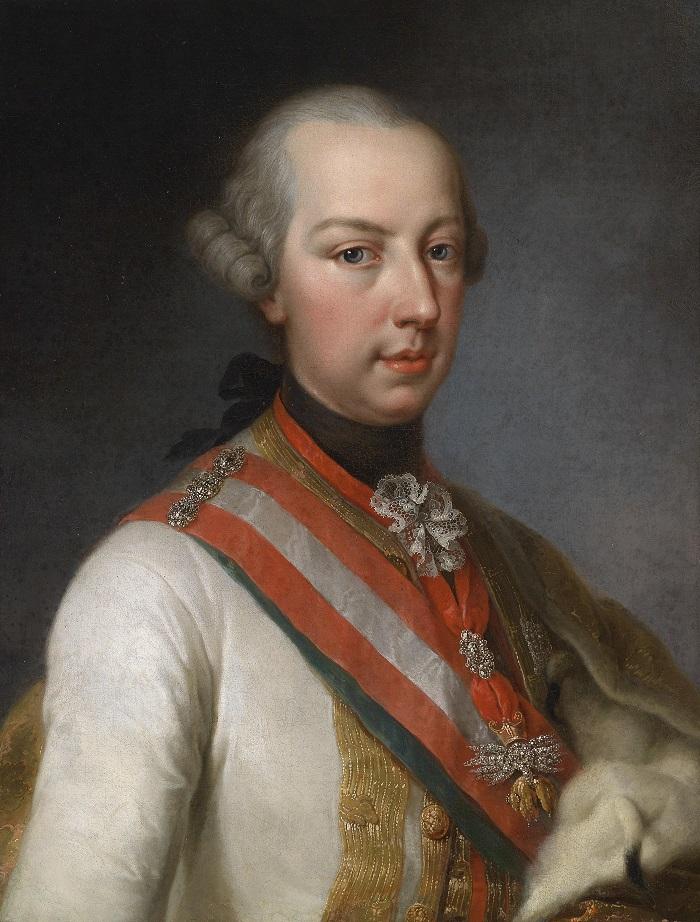 Lìimperatore d'Austria Giuseppe II (1741-1790)