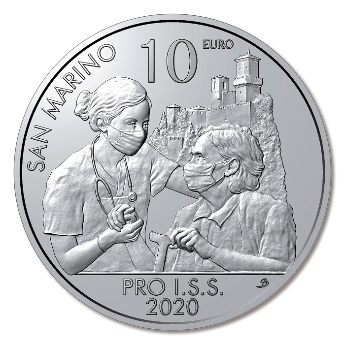 E' in finitura fior di conio ed è stata prodotta in 20 mila esemplari la moneta con cui la Repubblica di San Marino esalta lo spirito di comunità e di solidarietà della propria gente nel corso della pandemia