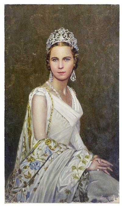 La principessa Maria José che, sposando Umberto, sarebbe divenuta per breve tempo anche l'ultima regina d'Italia