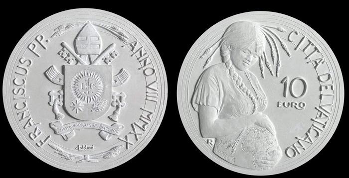 Dal disegno ai modelli in gesso, la moneta prende forma dalle mani e dalla creatività di Luigi Oldani