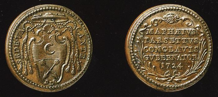 La versione definitiva e finalmente corretta della medaglia, realizzata dagli Hamerani
