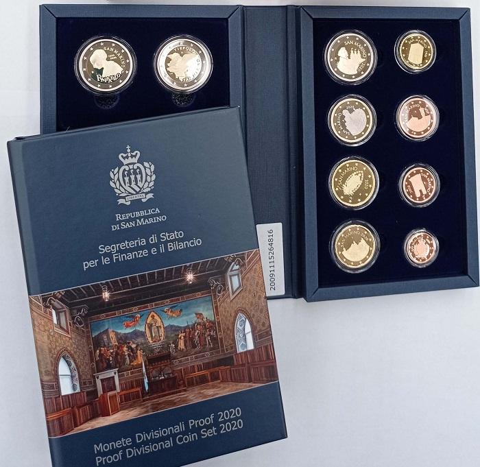Raffaello e Tiepolo, maestri dell'arte, sulle monete celebrative da 2 euro che San Marino inserisce anche nella serie annuale proof disponibile dal 15 ottobre in 2500 confezioni