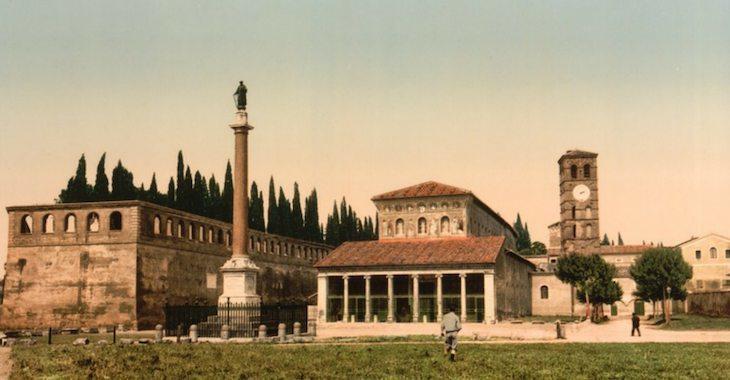 La Basilica di san Lorenzo fuori le Mura, anche nota come San Lorenzo al Verano, era il luogo in cui papa Mastai Ferretti aveva indicato di voler essere sepolto