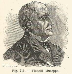 """L'archeologo Giuseppe Fiorelli (1823-1896), oltre che """"padre"""" degli scavi di Pompei fu anche un eminente numismatico"""