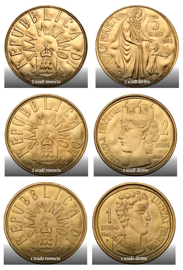"""Sono firmate Guido Veroi e coniate in oro le preziose monete sammarinesi in scudi che saranno assegnate ai primi tre classificati del Premio letterario """"Sylloge Nummorum San Marino"""""""