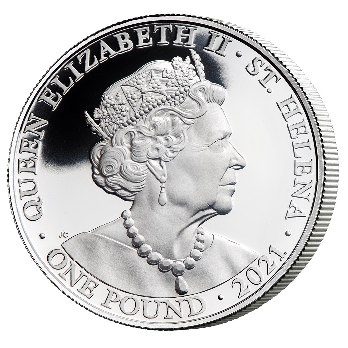 Sul dritto di tutte le monete, il ritratto ufficiale di Elisabetta II modellato da Jody Clark ed usato per le coniazioni del Commonwealth