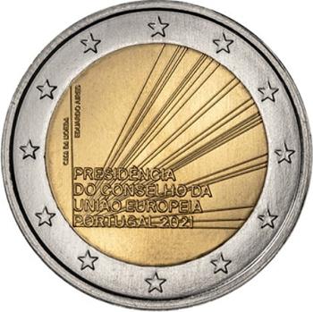 Ecco la moneta portoghese da 2 euro appena emessa per il semestre di Presidenza del Consiglio UE da parte di Lisbona