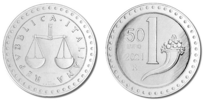 Rieccola, la piccola e amatissima lira coniata dal 1951 al 2001, ricomparire sull'oro, niente meno che su una prestigiosa 50 euro da mezza oncia di fino con cui l'Italia debutta nel settore delle bullion coin