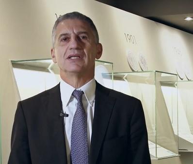 Paolo Aielli, riconfermato amministratore delegato di IPZS e uno dei fautori delle innovazioni numismatiche italiane degli ultimi anni
