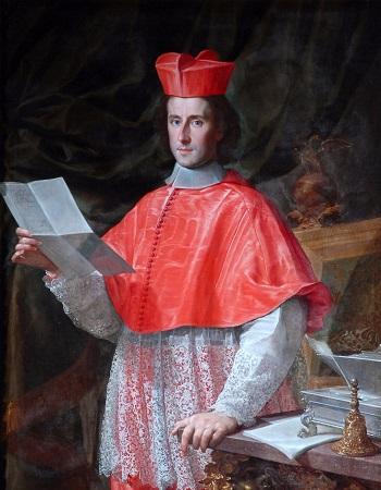 Il giovane cardinale Pietro Ottoboni, ultimo legato papale ad Avignone, ritratto da Francesco Trevisani