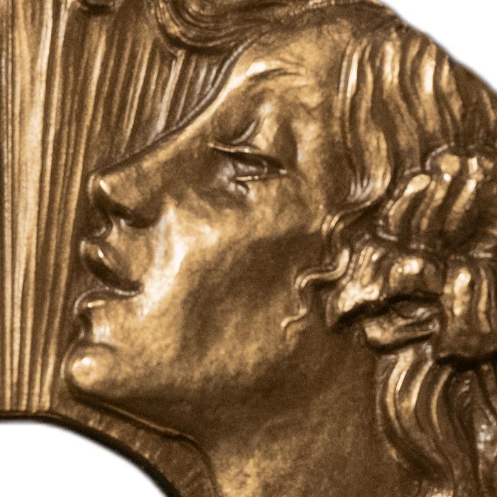La personificazione dell'Arte indica all'Italia un futuro ancora da scrivere