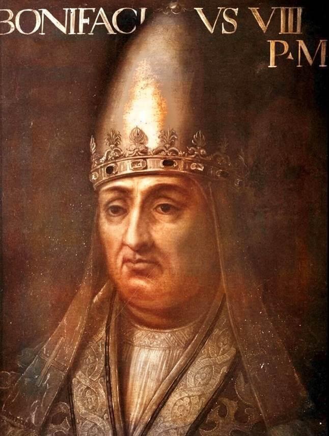 """Bonifacio VIII, il papa che Dante non vide mai """"di buon occhio""""..."""