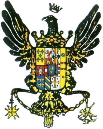 L'emblema del Regno di Sicilia borbonico