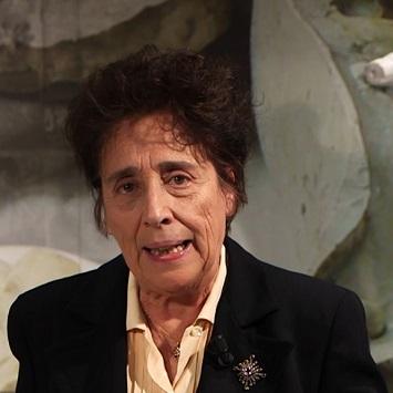 """La professoressa Silvana Balbi de Caro, curatrice del Museo della Zecca e della collana editoriale dei """"Quaderni"""""""