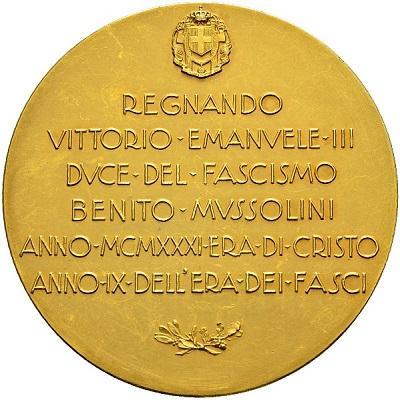 """""""Era di Cristo"""" ed """"Era dei fasci"""": un abbinamento che non sarà certo stato apprezzato dall'arcivescovo di Milano"""