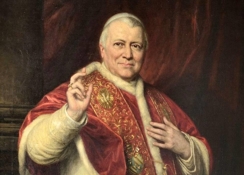 """Sul trono di Pietro, dal 1846 siede Giovanni Maria Mastai Ferretti, col nome di Pio IX: sarà l'ultimo """"papa re"""" della storia e vedrà il potere temporale sgretolarsi a seguito del Risorgimento e dell'Unità italiana"""