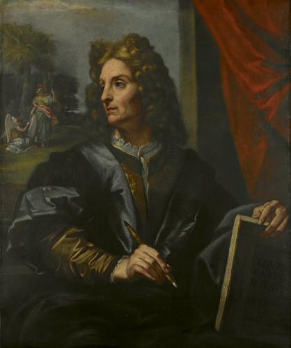 Autoritratto del pittore Carlo Maratta, uno dei protagonisti della scena artistica barocca non solo nella Roma dei pontefici