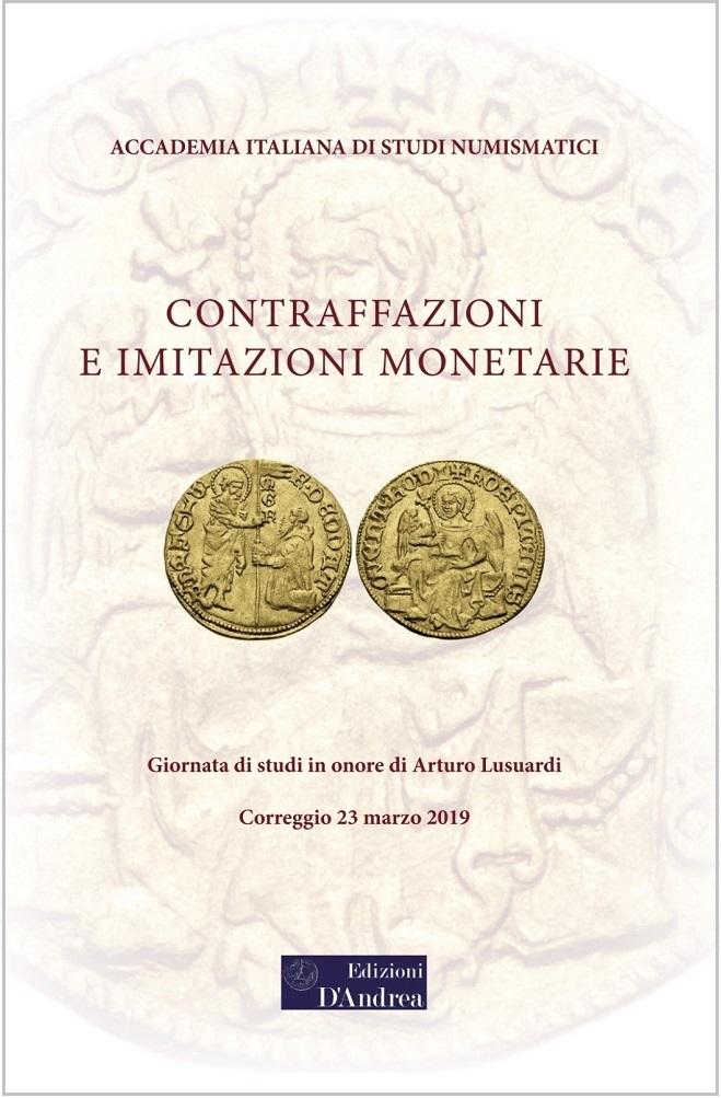 La copertina di uno degli ultimi volumi monografici pubblicati dall'Accademia italiana di studi numismatici