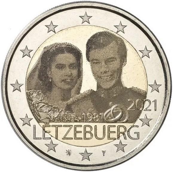 Ecco come si presenta l'innovativa 2 euro ad effetto fotografico emessa dal Lussemburgo: chi ha potuto visionare dal vivo la moneta assicura che la puntinatura del metallo è di notevole impatto visivo