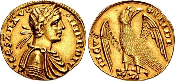 """L'augustale in oro, moneta simbolo non solo del regno di Federico II """"Stupor Mundi"""", ma dell'intero periodo della monetazione sveva in Italia"""