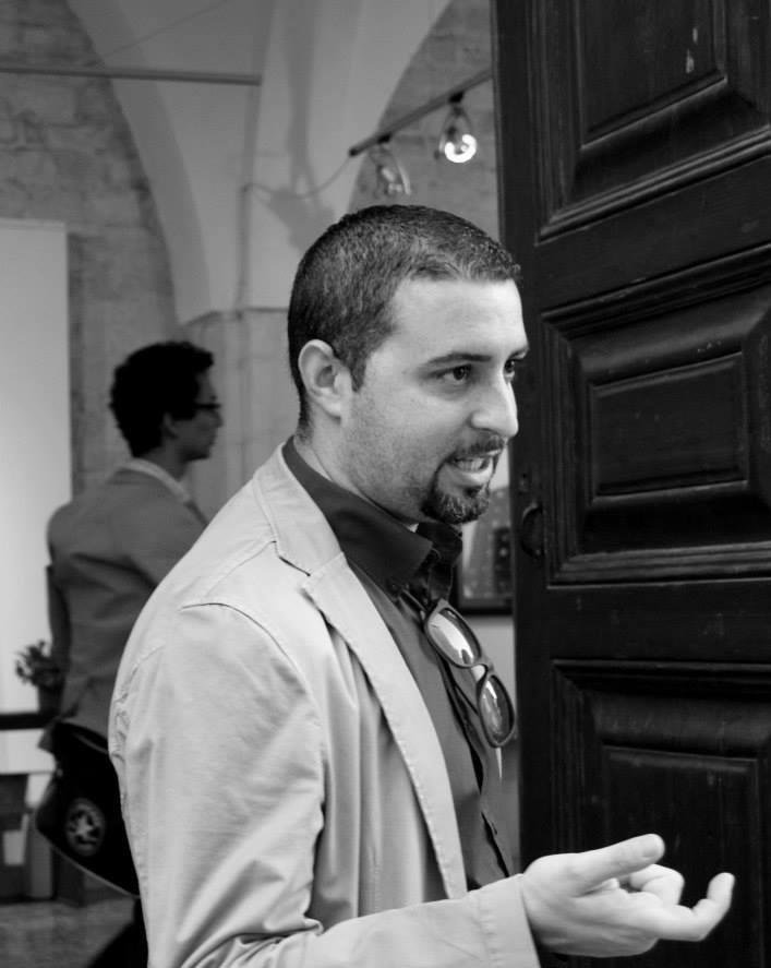 Carmelo Cipriani, lo storico dell'arte che ha riscoperto e pubblicato i disegni giovanili del futuro Vittorio Emanuele III (foto Giovanni Nardi da Exibart)