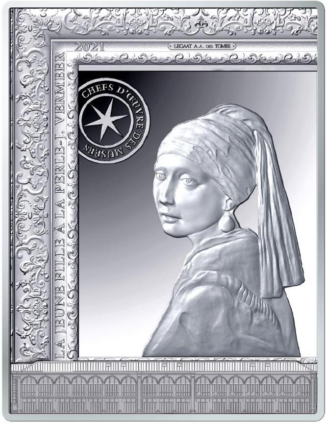 """La """"ragazza col turbante"""", chiamata anche la """"Monna Lisa del Nord"""", sulla nuova emissione di Francia dedicata ai capolavori dei musei di tutto il mondo"""