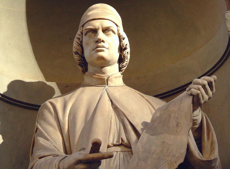 Il grande architetto rinascimentale Leon Battista Alberti sarà al centro della moneta da 5 euro in argento proof del Titano in programma nel 2022