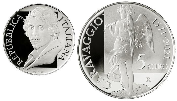 I 5 euro proof in argento 925 millesimi emessi il 30 agosto misurano 32 millimetri per 18 grammi di peso e sono stati coniati in 6000 esemplari in astuccio da IPZS