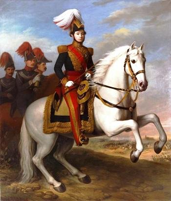 Il generale Juan Prim, uno degli artefici della rivoluzione spagnola del 1868 che detronizzò la regina Isabella II