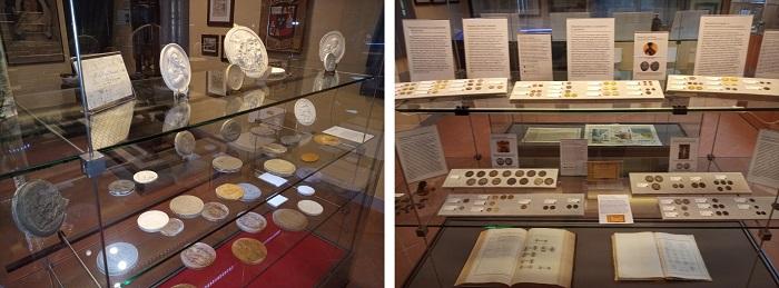 Nel percorso museale lucchese, riallestito lo scorso anno, anche monete e medaglie della più longeva zecca d'Europa, coniazioni di artisti locali come Tonelli, Farnesi e Pieroni e il Fondo Luigi Giorgi