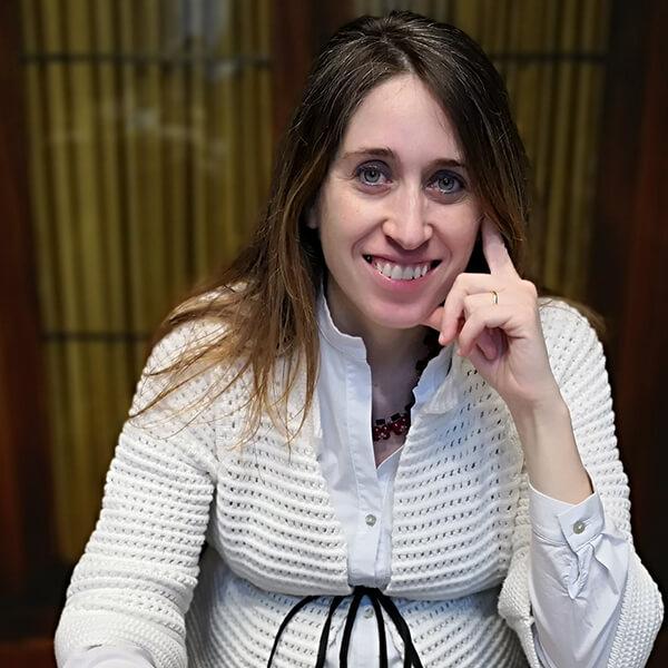 La dottoressa Eleonora Giampiccolo, direttrice del Medagliere Vaticano