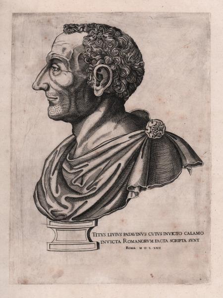 Lo storico Tito Livio, fiero avversario di C. Licinius L. f. Macer, il cui nome appare sul sesterzio