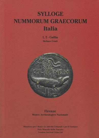 La copertina del volume di Stefano Conti che censisce le monete della Gallia conservate al Museo archeologico nazionale di Firenze